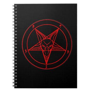 MARK of the DEVIL Spiral Notebook