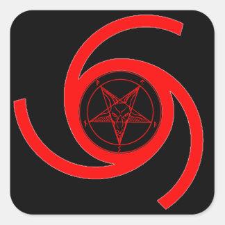 MARK of the DEVIL Square Sticker