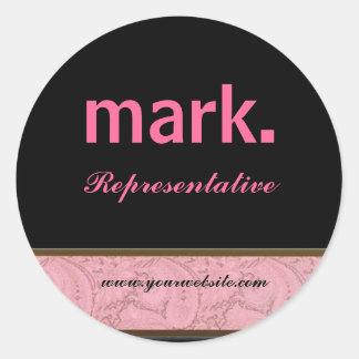 Mark. Representative Sticker! Classic Round Sticker