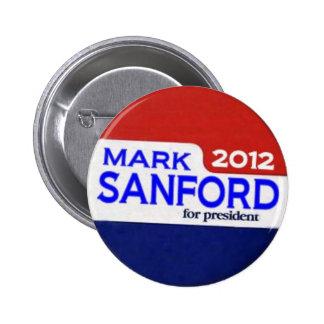 Mark Sanford 2012 Button