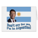Mark Sanford  Don't Cry for Me I'm in Argentina
