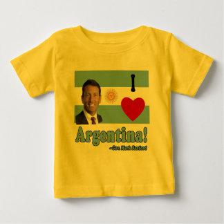 Mark Sanford I Love Argentina Baby T-Shirt