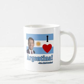 Mark Sanford I Love Argentina Classic White Coffee Mug