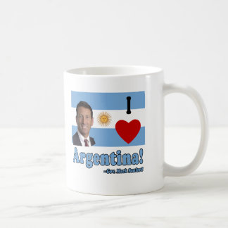 Mark Sanford I Love Argentina Coffee Mug