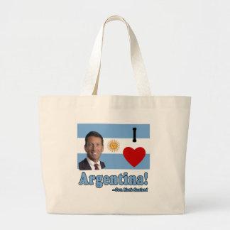 Mark Sanford I Love Argentina Jumbo Tote Bag