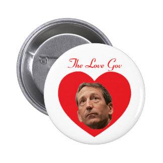Mark Sanford:  The Love Gov 2 Inch Round Button