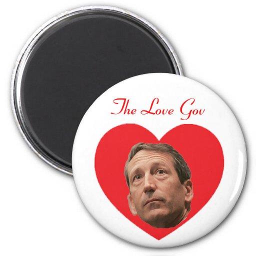 Mark Sanford:  The Love Gov Fridge Magnets