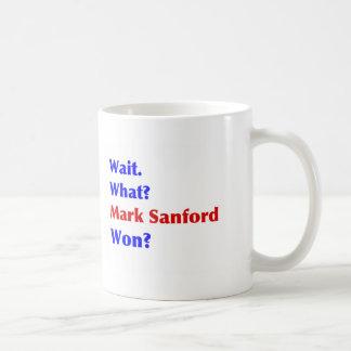 Mark Sanford Won Coffee Mug