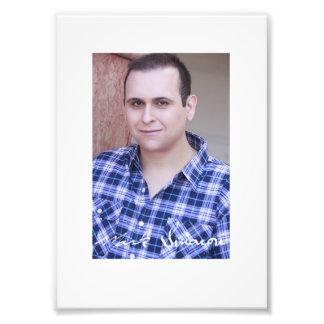 Mark Sinacori Autographed Headshot Photo Print