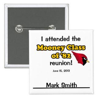 Mark Smith 2 Inch Square Button