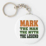 MARK - the Man, the Myth, the Legend Key Chains