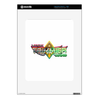 Mark Trimmier Band Skin For iPad