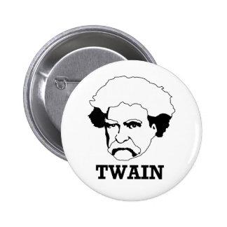 Mark Twain 2 Inch Round Button