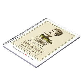 Mark Twain Barber Hall Frog Race Notebook