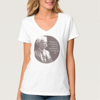 Mark Twain: Berlin is the Centre of Intelligence T-Shirt