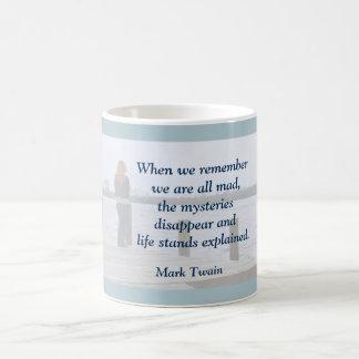 Mark Twain - cita en la taza