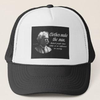 Mark Twain: Clothes Make the Man Trucker Hat