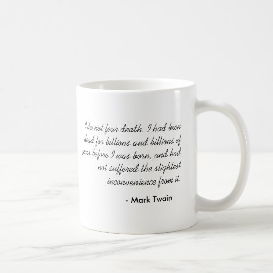 Mark Twain Coffee Mug