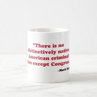 Mark Twain - congress Coffee Mug