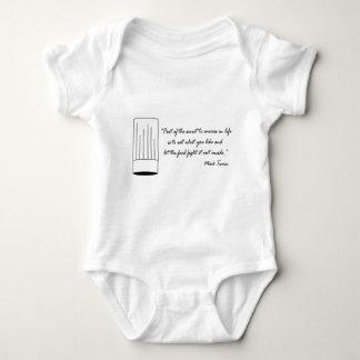 Mark Twain Food Quote Baby Bodysuit