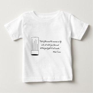 Mark Twain Food Quote Baby T-Shirt