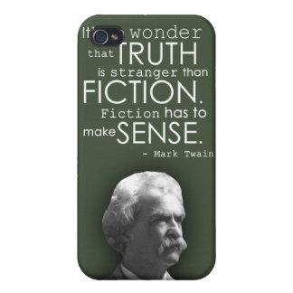 Mark Twain Humorous Quote Phone Case in Green