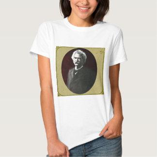 Mark Twain in a Lantern Slide by Drew of Boston Tee Shirt