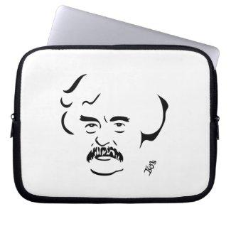 """mark Twain Laptop Sleeve"