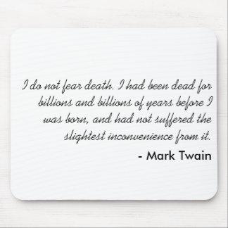 Mark Twain Mouse Pad