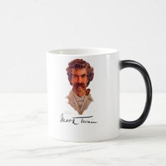 Mark Twain 11 Oz Magic Heat Color-Changing Coffee Mug