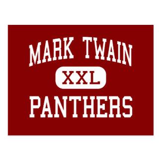 Mark Twain - panteras - joven - Modesto Postal