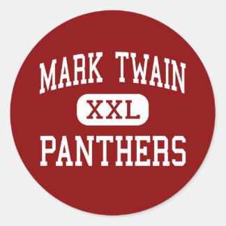 Mark Twain - Panthers - Junior - Modesto Stickers