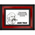 Mark Twain Photo Sculptures