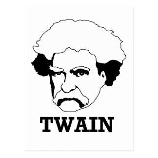 Mark Twain Postcard