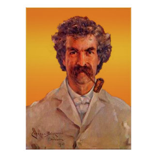 Mark Twain Póster