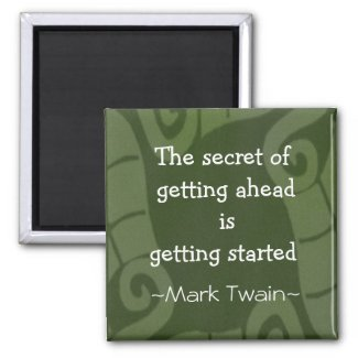 Mark Twain Quotation - Inspirational Gift