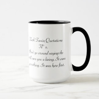 Mark Twain Quotations N° 2 Mug