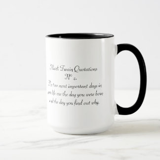 Mark Twain Quotations N° 4 Mug