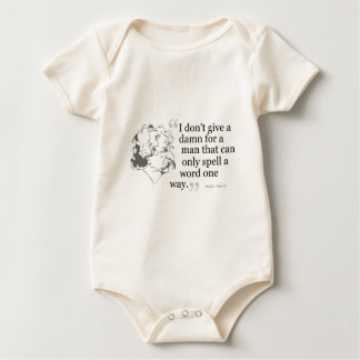 Mark Twain Quote 3 Baby Bodysuit