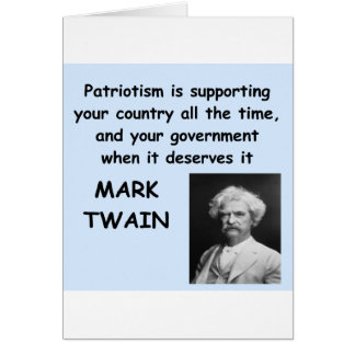 Mark Twain quote Greeting Cards
