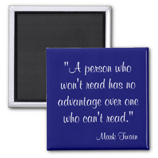 Mark Twain Quote Magnet