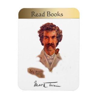 Mark Twain Rectangular Photo Magnet