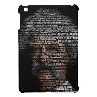 Mark Twain (TypeFace) iPad Mini Cases