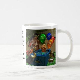 Mark Twain's Basket Birthday Coffee Mug