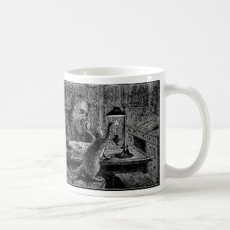 Mark Twain's Cat Snuffs His Candle Coffee Mug