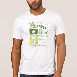 Mark Twain's Huck Finn Cover Art T-Shirt