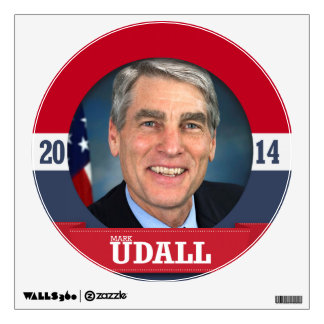 MARK UDALL CAMPAIGN WALL STICKERS
