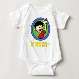 MARK with title.png Baby Bodysuit