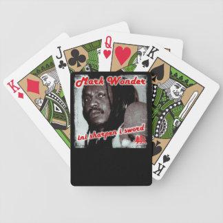 Mark Wonder Playing Cards