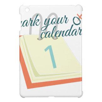 Mark Your Calendar iPad Mini Cases